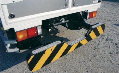 バック・ガード 収納式 (車両用追突緩衝装置)